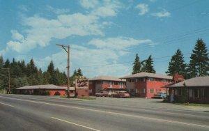 Canyon Court Capilano Road Vancouver Motel Postcard