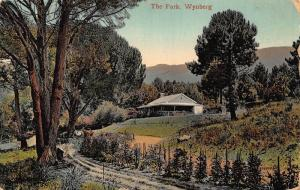 South Africa Winberg park postcard