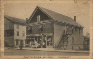 Fultonville NY Rossi's New Bldg c1920 Postcard
