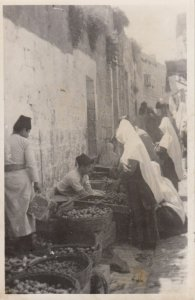 RP:  Bethlehem , Palestine , 00-10s ; Street Merchants