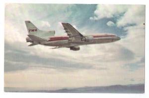 TWA L-1011 Vintage Postcard