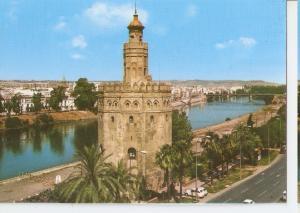 Postal 045653 : Sevilla. La Torre del Oro y el Guadalquivir