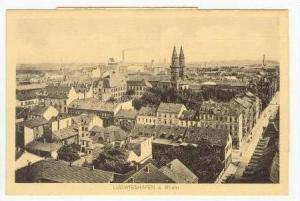 Ludwigshafen am Rhein , Germany,  00-10s panorama