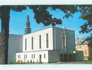 Pre-1980 CHURCH SCENE Franklin New Hampshire NH hs7604