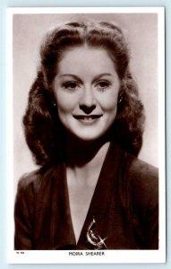 RPPC British Actress & Ballerina  MOIRA SHEARER  c1940s Postcard (Blank back)