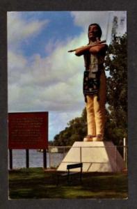 WI Indian Riverside Park LA CROSS WISCONSIN Hiawatha PC
