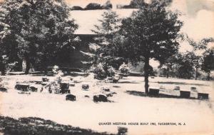 Quaker Meeting House Built in 1702, Tuckerton, N.J., , Early Postcard, Unused