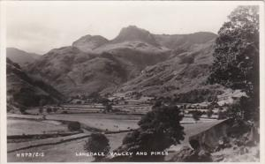 England Cumbria Langdale Valley and Pikes 1961 Photo