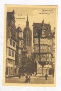 Domblick am Markt., Der Grosse Engel, Frankfurt am Main (Hesse), Germany, 190...
