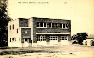 MA - Grafton. Fire Station