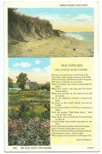 The Peace of Cape Cod, 1928 used Postcard