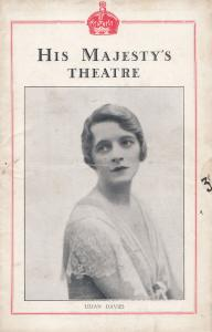 Lilian Davies Song Of The Sea Musical HMS Conquest Play Old London Theatre Pr...