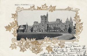 TORONTO , Ontario , Canada , 1904 ; University College