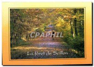 Modern Postcard Bourg en Bresse La Foret Seillon