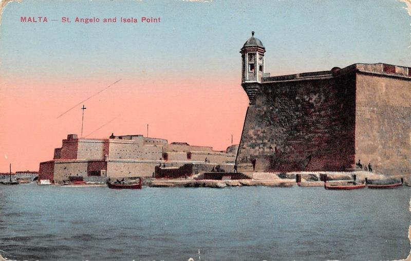 Malta St. Angelo and Isola Point