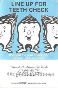 Vincent A Simone DDS, Dentist Oak Park, Illinois, USA Postcards Post Cards Ol...