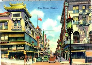 Postcard Book San Francisco California Chinatown C 1930s Unposted 18 Pictures