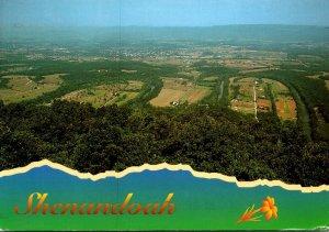 Virginia Shenandoah National Park Aerial View 1997