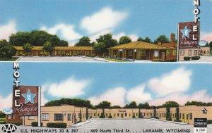 LARAMIE , Wyoming, 50-60s ; Ranger Motel