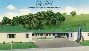 PA - Washington, City Motel