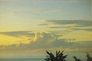Guam Storm Clouds Over Ocean