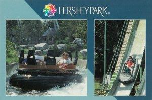 HERSHEY , Pennsylvania, 1950-1960s ; Canyon River Rapids Ride