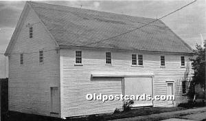 Old Vintage Shaker Post Card Spin Shop and Wood House 1816, produced 1974 Sab...