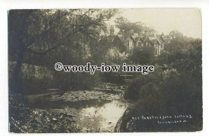 tq1635 - Norfolk - York Cottage, and the Bog Garden, at Sandringham - Postcard
