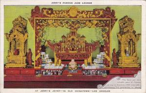 California Los Angeles Jerry's Famous Jade Lounge At Jerry's Joynt In Old Chi...