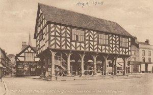LEDBURY, Herefordshire, England, 1928 ; Old Market House