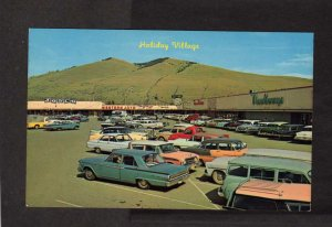 MT Holiday Village Shopping Center Missoula Montana Postcard Newberrys Store