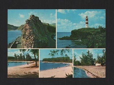POSTCARD STAMP MAURITIUS ILE MAURICE phare lighthouse