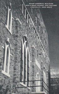 Knapp Memorial Building God's Bible School and College Cincinnati Ohio