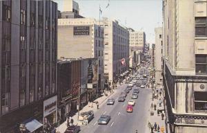 St Catherine Street , MONTREAL , Quebec , Canada , PU-1974