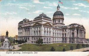 Indiana Indianapolis Capitol Building 1906