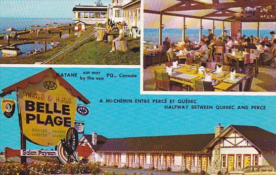 Canada Quebec Perce Motel Hotel Belle Plage