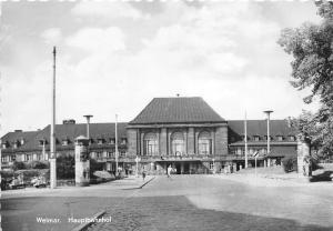BG21801 weimar hauptbahnhof  germany CPSM 14.5x9cm