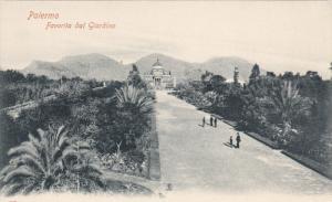 PALERMO, Sicilia, Italy, 1900-1910´s; Favorita Dal Giardino