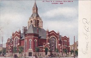 Saint Paul M E Church 12th And M Lincoln Nebraska