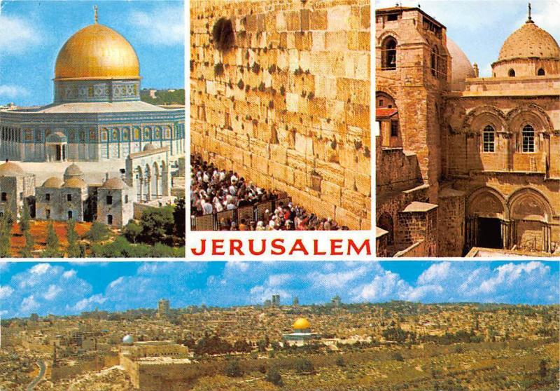 Israel Jerusalem Holy City Three Monotheistic Faiths Wall