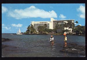 Hilo, Hawaii/HI Postcard, Naniloa Surf Hotel/Resort