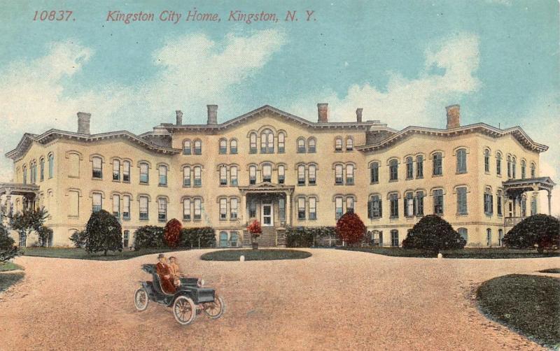 KINGSTON, NY New York   KINGSTON CITY HOME  Ulster County   c1910's Postcard