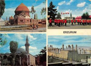 Turkey Erzurum Sehirden 4 muhtelif gorunus Soldiers Statue General view