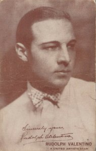 Actor RUDOLPH VALENTINO, 1920s