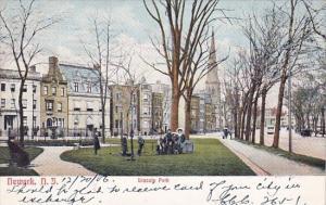 Lincoln Park Newark New Jersey 1906
