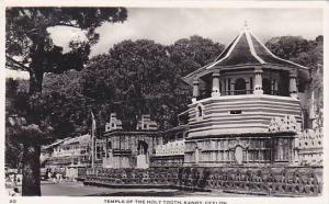 RP, Temple Of The Holy Tooth, Kandy, Ceylon, Sri Lanka, Asia, 1920-1940s