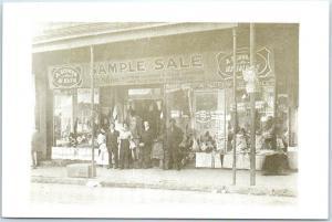 Memphis, Tennessee Postcard A. SCHWAB DRUG STORE Beale Street View - Unused