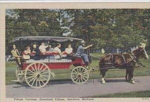 Michigan Dearborn Village Carriage Greenfield  Village