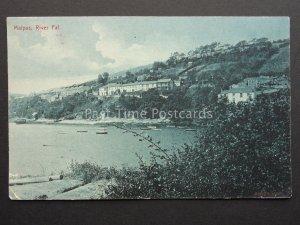 Cornwall MALPAS River Fal - Old Postcard by Argall Series