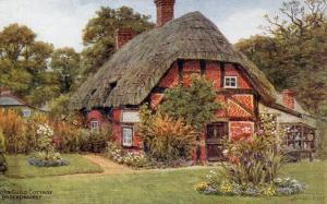 UK - England, Brockenhurst. Arts Guild Cottage   *Artist: A. R. Quinton